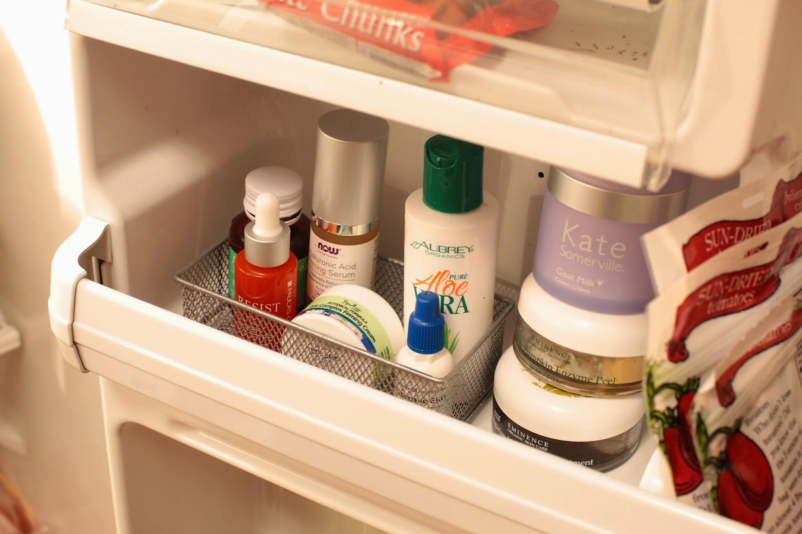 5 Kosmetikprodukte, die Sie im Kühlschrank aufbewahren sollen