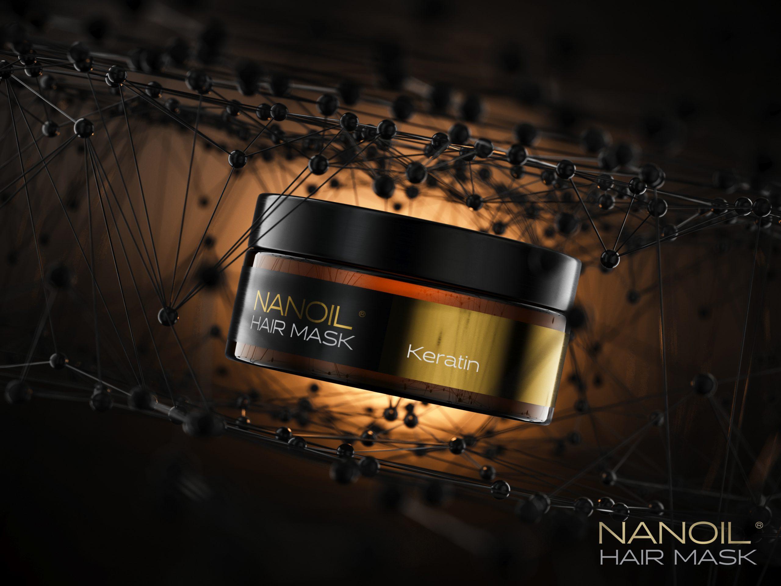 Pflege der strapazierten Haare: Ich stelle euch meine Lieblingsmaske mit Keratin von Nanoil vor!